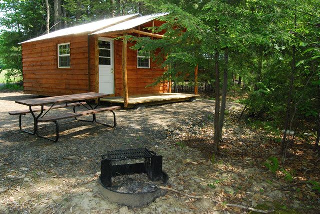 Cabin & Cottage Rentals | Pine Cradle Lake Family Campground